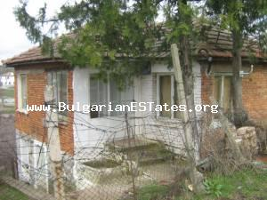 SOLD! Rural house for sale located at the hamlet of Razdel in Yambol region.