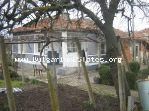 House for sale located close to the Bulgarian Black sea coast at the village of Rusokastro.