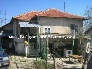 A cheap house for sale close to the Bulgarian Black sea.