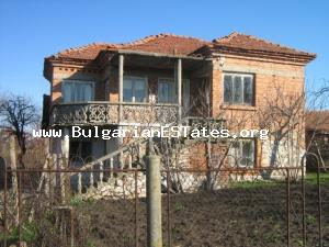 A traditional country house with charm in the village of Malomir, Yambol Region.