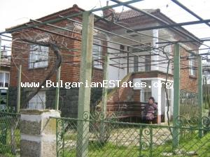Wonderful rural house for sale located at the well-developed hamlet of Troyanovo,just 21km. away  from the town of Bourgas and the sea coast .