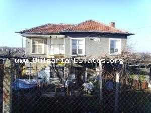A large brick built house for sale some 44km away from Burgas.