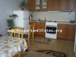 A refurbished one bedroom apartment in Burgas for sale.