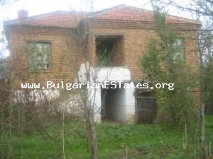 A lovely country house sat in a generous plot size in the village of  Yambol Region.