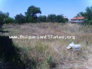 Plot for sale where you can build the home of your dreams near the Black sea coast and the enchanting city of Burgas.