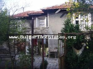 Cheap rural house is for sale in well developed village in Yambol Province.