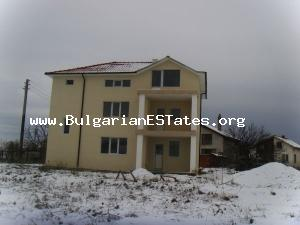 Quite new house for sale built only two years ago is hidden in a calm beautiful village.