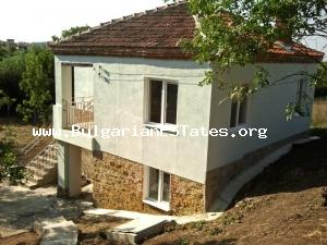 We offer this lovely Bulgarian house for sale in the charming village of Drachevo - 22 km away from the city of Bourgas and 7 km from the town of Sredets.