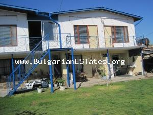 Exclusive offer for investment – two properties are for sale – a house and a hotel. You can live near the sea and develop your new business in Bulgaria.