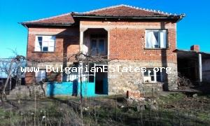 Cheap two-storey house for sale situated at the small hamlet in Sakar Mountain.
