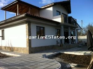 Wonderful newly house for sale located in a calm village near the magnificent Black sea coast.