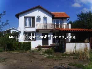 Wonderful offer – new massive house for sale ready to move in, near the enchanting Black sea coast.