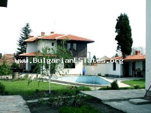 Two-storey house, just 19 km north from Bourgas and 18 km west of the famous Sunny beach resort.