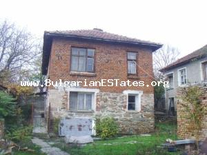 """Bulgarian ESTates"" Ltd offer you a traditional, two-storey, brick-built country house situated at the end of the pretty village of Iasna Poliana."