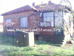 House for sale in the beautiful Bulgarian countryside near the sea coast.