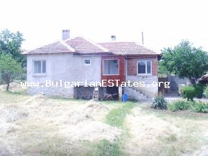 One-storey house is for sale situated in a wonderful peaceful village near the town of Elhovo.