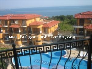 For sale a large two-bedroom apartment with sea view in Sozopol. Complex Sandy Cove / Dream Land /.