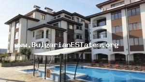One bedroom apartment is for sale with sea view located in calm quarter оf Sarafovo, in the city of Bougras, Bulgaria.
