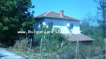 Renovated house for sale is located in a picturesque village in the Bulgarian countryside.
