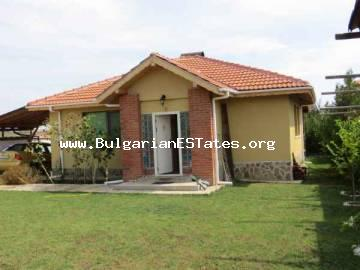 New luxury house for sale is located only a few kilometers from the sea in Bulgaria,