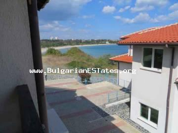 Two-bedroom apartment for sale is hidden among calmness and beauty in the seaside village of Lozenets, Bulgaria.