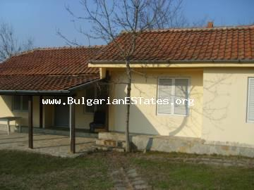 Bulgarian properties for sale.For sale is new one-storey house with garden located in the village of Velika, Lozenets, Bulgaria.