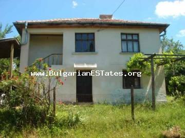 Buy property in Bulgaria near the sea .Two-storey renovated house for sale in the village of Bulgari, only 15 km from the town of Tsarevo and the sea.