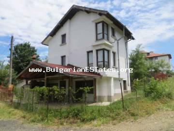 Bulgarian property for sale . New three-storey house for sale in the picturesque mountain village of Velika, 3 km from Lozenets and the sea