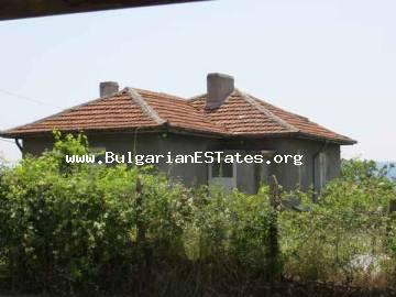 Bulgarian properties. Partly renovated two-storey house is for sale in the village of Gramatikovo in the heart of Strandja Mountain only 30 km from the town of Tsarevo and the Sea.