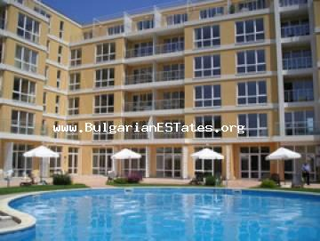For sale is one bedroom apartment in Flores Park, Sunny Beach, Bulgaria.