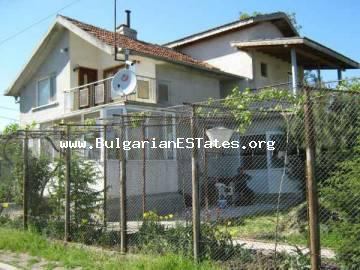 Renovated two-storey house for sale in the village of Rosen, Bulgaria