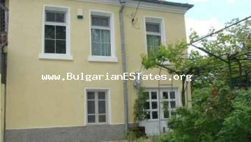 Two-storey house for sale located at the village of Orizare only 14 km away from Sunny beach in Bulgaria.