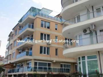 GREAT BARGAIN!!! Luxury two-bedroom apartment for sale beach front with sea view in the town of Tsarevo, Bulgaria.