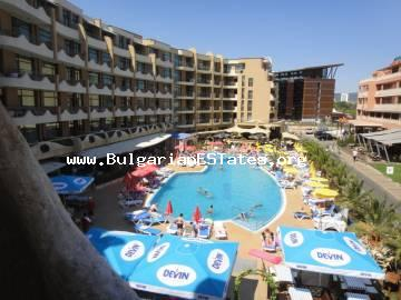 Great bargain – one-bedroom apartment for sale in Grenada Apart hotel, Sunny beach, Bulgaria.