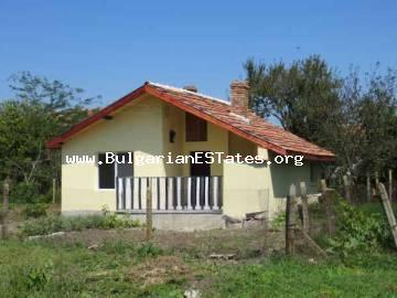 Cheap rural property for sale – one-storey house after repairs in the village of Trastikovo only 15 km from Bourgas, Bulgaria