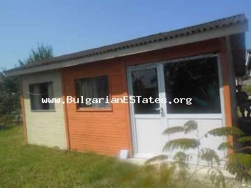 Plot of land is for sale with three bungalows in the mountain village of Bulgari, only 20km from the sea and the town of Tsarevo.