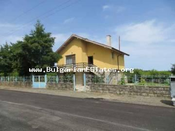 For sale is a two-storey house with big yard located at the village of Bulgari with panorama to the Strandja Mountain only 20 km from the sea.