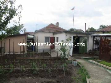 For sale is one-storey house only 8 km away from the sea and the city of Bourgas in the village of Dimchevo, Bulgaria.
