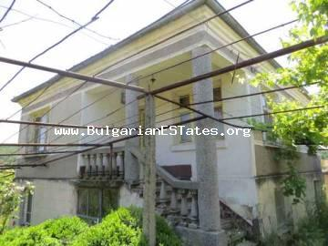 Bulgarian rural property for sale – two-storey house 12 km from Primorsko at the village of Iasna Poliana, Bulgaria