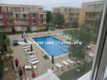 "Cheap two-bedroom apartment for sale located in complex ""Sunny Day 5"", Sunny Beach, Bulgaria."