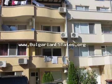 Cheap one-bedroom apartment is for sale in St. Vlas, Bulgaria.