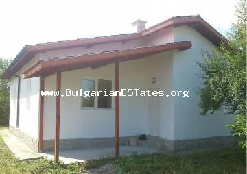 New one-storey house is for sale in the village of Trastikovo, Bourgas, Bulgaria.