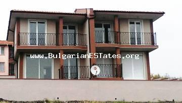 New two-storey houses for sale in the village of Laka, 12 km from the seaside city of Bourgas and 12 km from the airport in Sarafovo, Bulgaria.