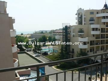 Studio with an incredible sea view is for sale in Sunny Beach, Bulgaria.