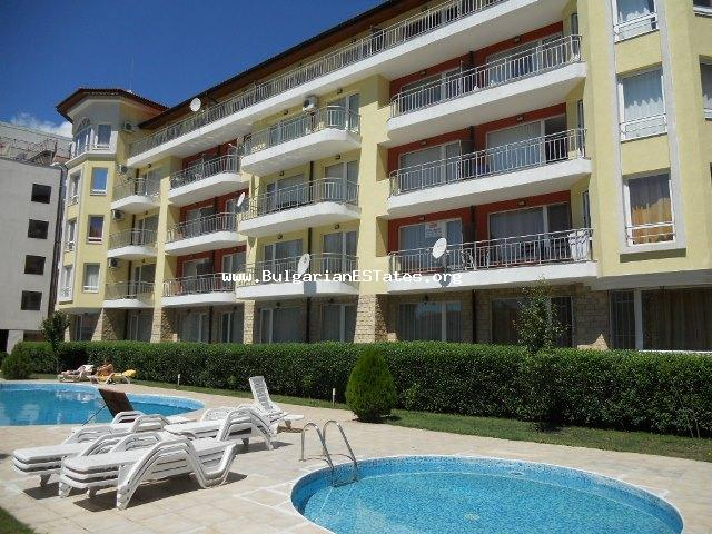 For sale is a spacious two bedroom light apartment in Sunny Garden complex, Sunny Beach resort.