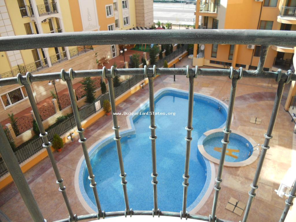 "Two-bedroom apartment is for sale in the complex ""Amadeus 3"", Sunny beach, Bulgaria."