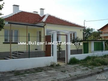 Renovated one-storey house in the village of Rudnik, 12 km from the seaside city of Bourgas, Bulgaria.