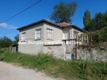 One-storey rural house is for sale in the village of Oryahovo, Haskovo region in Bulgaria.