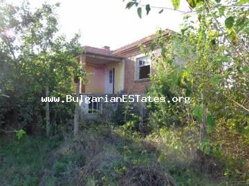 Bulgarian real estate – two-storey house with yard is for sale in the village of Oryahovo, Haskovo, Bulgaria.