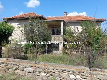 Bulgarian real estate for sale – two-storey house with yard in the adorable village of Yerusalimovo, Haskovo region.